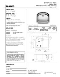 BLANCO Wave 510-877 Leaflet