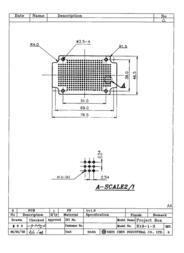 Crc Kontakt Chemie Experimenting boards (L x W) 76.5 mm x 46.5 mm Grid pitch 2.54 mm 98003C10 Data Sheet