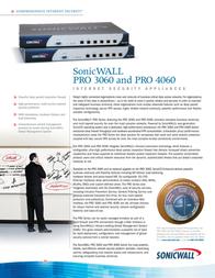 SonicWALL PRO 3060 01-SSC-5366 Leaflet