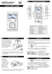 Pogo Radio YourWay LX 128MB Quick Setup Guide