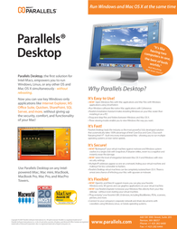 Parallels Desktop for Mac PARADSKTPMAC Leaflet