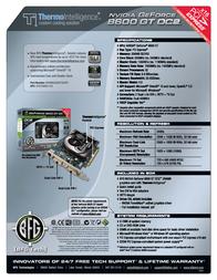BFG Tech 8600 GTS OC2 256MB 151458 Leaflet