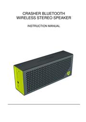 JLab Crasher Bluetooth Wireless Stereo Speaker CRSHER User Manual