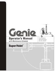 Genie SUPER HOIST 82297 User Manual