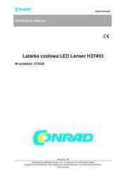 Led Lenser H3 7493 User Manual