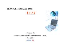 MiTAC 8170 User Manual