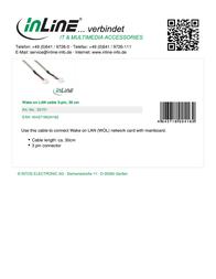 InLine 50151 Leaflet