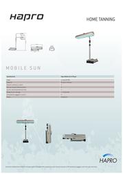 Hapro Mobile Sun HP 8540 35003 Leaflet