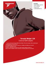 Allied Telesis Tornado Webjet 128 TOR-WJTEU128 Leaflet