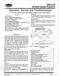 Carrier 38EV036320 User Manual