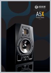 Adam Audio A5X Leaflet