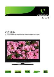 Videocon VU226LD User Manual