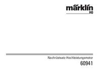 Maerklin Märklin 60941 Hochleistungsmotor-Nachrüst-Set (60941) 60941 Data Sheet