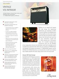 Bugera V55 Infinium V55 INFINIUM User Manual