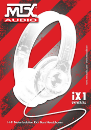 MTX iX1 User Manual