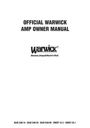 Warwick Sweet 25.1 User Manual