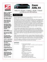 Zoom 5651 X4 5651-72-00F Leaflet