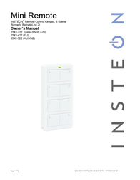 INSTEON 244A3WH8 User Manual