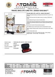Atomic Accessories DSA.5DG Leaflet