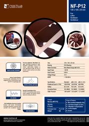 Noctua NF-P12 005-250 Leaflet