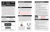 Roadmaster RS3000T Leaflet
