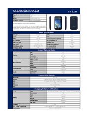Kazam Trooper X4.0 TR4043049-01 Leaflet