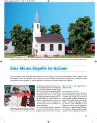 Piko H0 61825 H0 Village church of St. Lucas 61825 Data Sheet