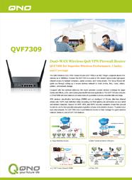 Qno QVF7309 Leaflet