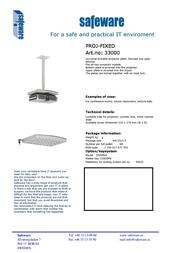 Safeware 33000 Leaflet