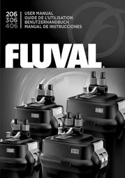 Fluval External aquarium filter A212 A212 Data Sheet