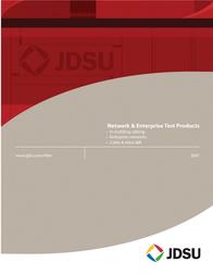 JDSU TP300 User Manual