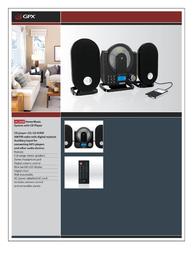 GPX HC208B Leaflet