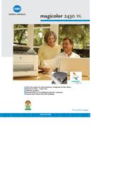 Konica Minolta Magicolor 2430DL 32 MB 20ppm A4 5250221-200 User Manual