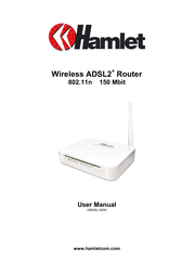 Hamlet HRDSL150W User Manual