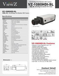 ViewZ VZ-1080HDI-S Leaflet