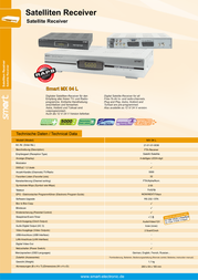 Smart MX04 L 21-01-01-0036 Leaflet