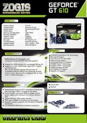 Zogis ZOGT610-1GD3H Leaflet