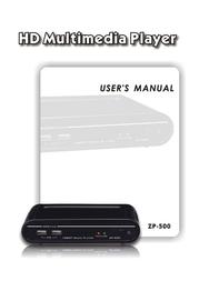 Olevia ZP-500 User Manual