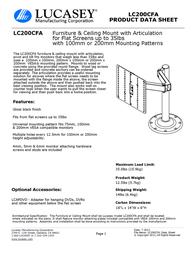 Lucasey LC200CFA Product Datasheet