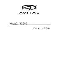 Avital 3100 Owner's Manual