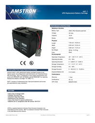 Amstron AUP-7 Leaflet