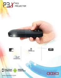 AAXA Technologies P3X Pico Pocket Projector KP-400-11 Leaflet