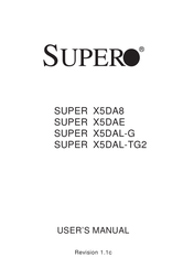 Supermicro X5DAL-G X5DAL-G-O User Manual