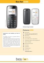 Beafon S200 S200EU_001 Leaflet
