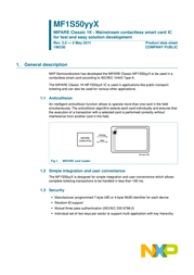 Quickcool Radio modules CARD-MF1K-ISO-PVC Data Sheet