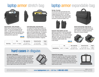 Matias Laptop Armor Stretch Bag Leaflet