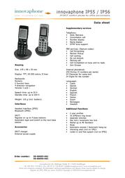 Innovaphone IP55 50-00055-001 Leaflet
