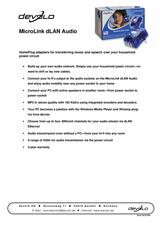 Devolo MicroLink dLAN Audio 1131 User Manual