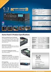 Scythe Kama-Panel 3 SCKMPN-3000 Leaflet