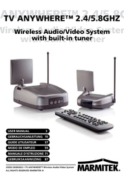 Marmitek A/V transmitters Wireless: TV Anywhere 09617 User Manual